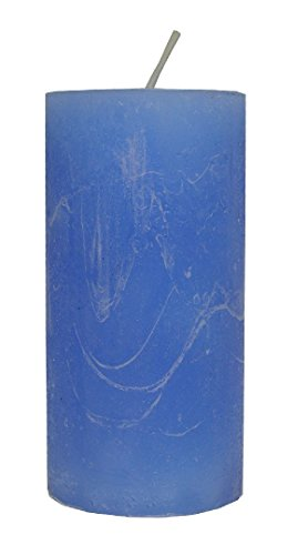 Rustic bougie lavande 120 x 60 mm dans la masse