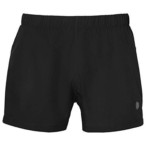 ASICS - 154576-0904, Pantalones Cortos para Hombre, Hombre, Shorts, 154576-0904, Negro, S