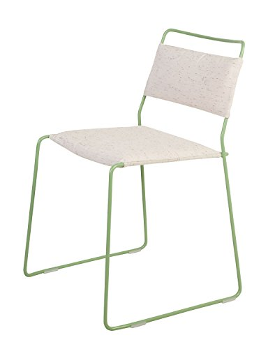 OK Design One Wire Chaise Vert – Blanc – 2R – Rouge, Rasmus Fasting