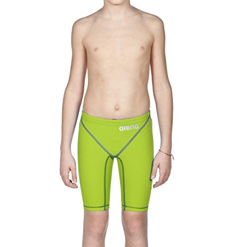 ARENA Powerskin Jungen Badeanzug ST 2.0 Jammers Youth Racing, Lime Green, 22