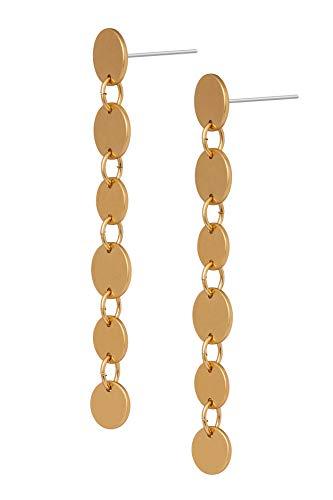 Sence Copenhagen L876 - Auriculares de diadema, color dorado mate