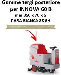Wischergummi hinten für COMAC Bodenwischer - INNOVA 60 B