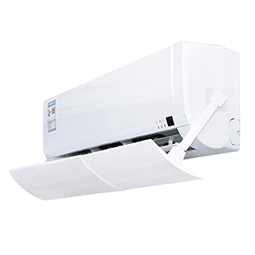 GJHL Air conditioning cover New Home Adjustable Air Conditioner Cover Outdoor Anti Direct Blowing Retractable Air Conditioning Wind Shield Deflector Baffle durable (Color : 56x18cm)