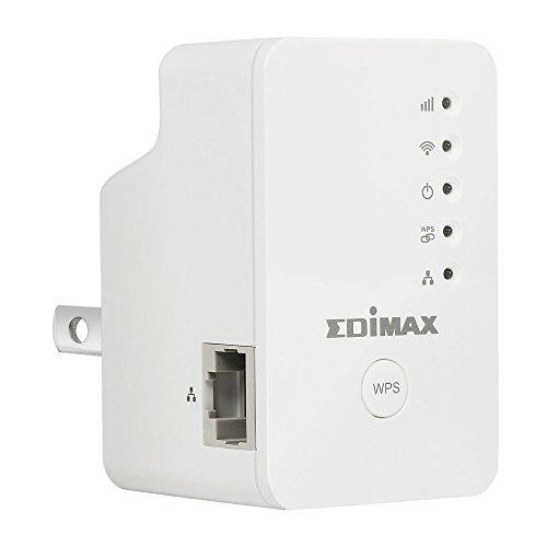 Edimax EW-7438RPn Mini New Version N300 Universal Wireless Range Extender/Wi-Fi Repeater/Wall Plug/Ethernet Port