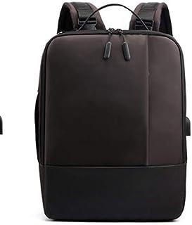Fyuanmeiibb Backpack, Fashion Men Backpack USB Charging 15.6 Inch Laptop Bag Multifunctional Raincoat Man Travel Bags (Col...