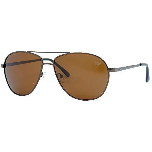 Óculos de sol, Hang Loose, Unissex, Marrom