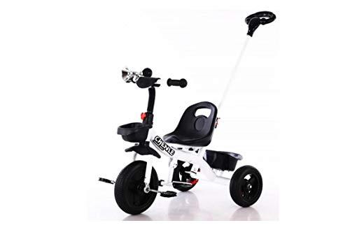 BDW Bicicleta sin pedales para niños, de 2 a 5 años, pedales 2 W1, para el equilibrio, con sillín y manillar regulables en altura, timbre de bicicleta