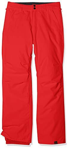 Quiksilver Estate Pantalones de Nieve, Niños, Rojo (Flame), 16/XXL