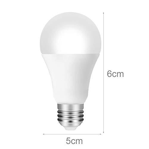 E27 Wifi Smart Light Bulb,Dimmable,Multicolor,Wake -Up Lights,Rgbww Led Lamp,Kompatibel Mit Alexa Und Google Assistant