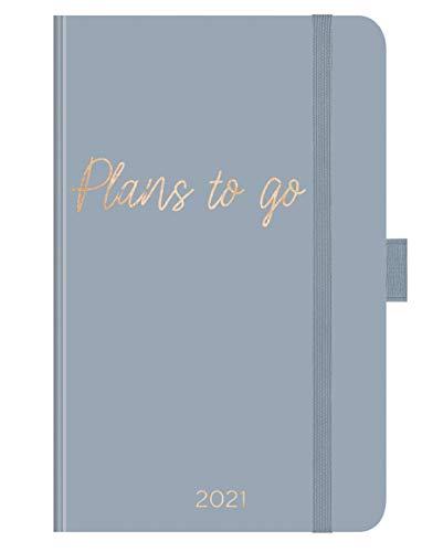 Buchkalender Times Small12 Trend Plans To Go 2021: Terminplaner mit hochwertiger Folienveredelung für echten Glanz. 9 x 14 cm