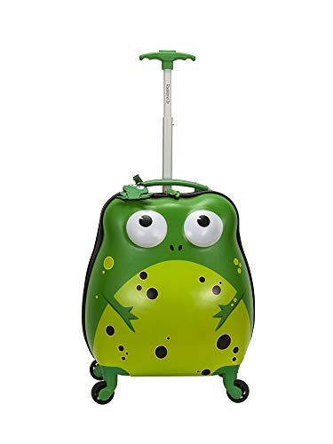 ROCKLAND JR MY FIRST LUGGAGE FROG