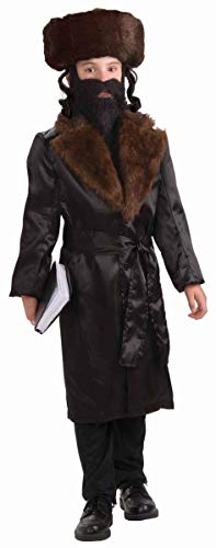 Forum Novelties Child's Jewish Rabbi Costume Medium 8-10 Brown