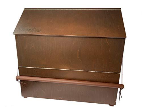 Die Boxenbox - Aufbewahrungskiste für Pferdezubehör aus Holz zum Anbringen an einer Boxentür - drei Jahre Garantie!