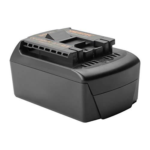 Shentec 18V 5000mAh Li-ion Batería para Bosch BAT619G BAT619 BAT609G BAT609 BAT618 BAT618G BAT610G