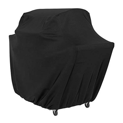 Funda para barbacoa de gas de Amazon Basics - Extra grande, Negro