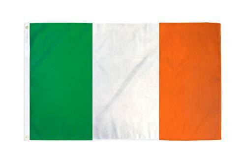 AZ FLAG Flagge Irland 90x60cm - IRISCHE Fahne 60 x 90 cm feiner Polyester - flaggen
