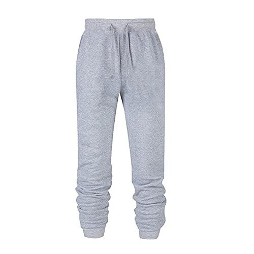 N\P Joggers sueltos de las mujeres de los hombres de la cintura de los pantalones deportivos de la calle pantalones