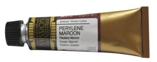 Mijello Mission Gold Class Water Color, 15ml, Perylene Maroon