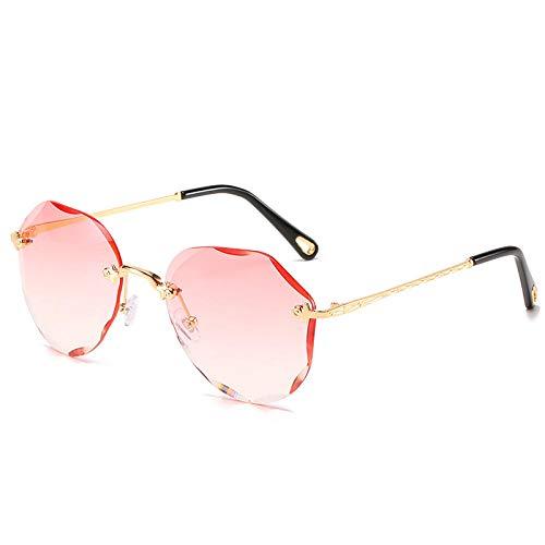 HPPSLT Gafas de Sol Polarizadas Clásico Retro para UV400 Protection, Gafas de protección UV de Personalidad Moda-1