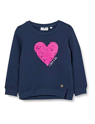 TOM TAILOR Baby-Mädchen Sweatshirt T-Shirt, Dress Blues|Blue, 116/122