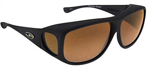 Fitovers Eyewear Aviator Sonnenbrille, Damen, AV001A, matte black, L