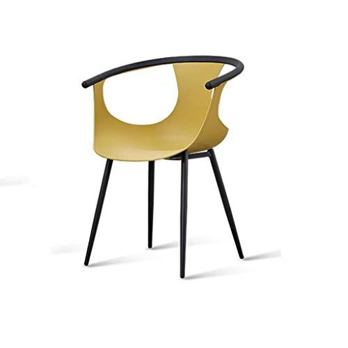 Luck7DB eenvoudige eetstoel, kinderstoel, rugleuningsstoel, eetkamer, creatieve fauteuil, Nordic Leisure Chair