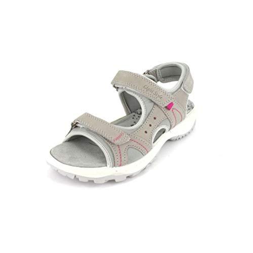 Imac Sandale Größe 38, Farbe: osso/Grigio