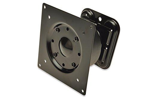 DIGITUS TFT Monitor Halterung / Wandbefestigung, 35ø schwenkbar, 360ø drehbar, VESA 75x75 und 100x100, bis 15kg blastbar, schwarz