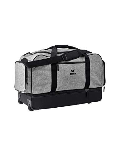 ERIMA Travel Line koffer, 76 cm, 120 liter, grijs melange/zwart