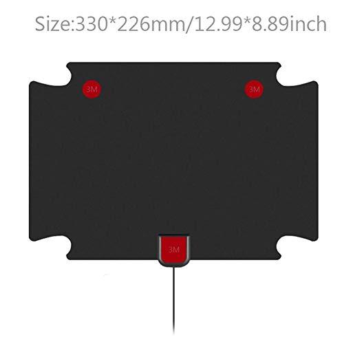 Groust TV antenne HDTV-versterker Digitale HDTV-antenne compatibel met 720p, 1080i, 1080p / ATSC, ontvangstbereik 80-1000 mijlen