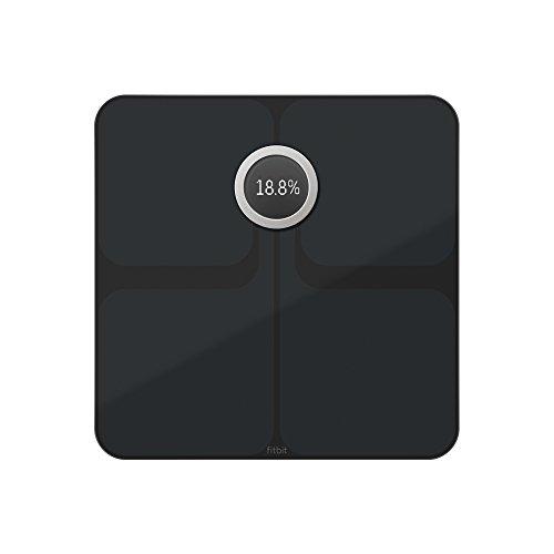 Fitbit ARIA 2 Wi-Fi Smart Scale, Black