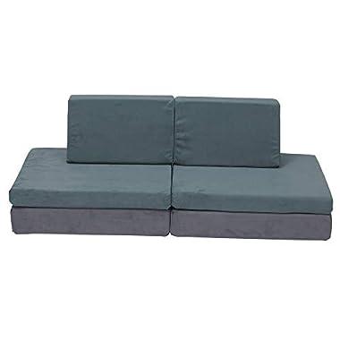 Children's Factory-CF349-067 The Whatsit Kids Couch, Toddler Playroom/Homeschool/Bedroom Furniture, Girls/Boys Sofa…