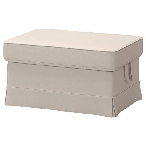 IKEA オットマン用カバー ロファレットベージュ 1428.8520.3810