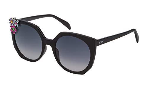 TOUS STOA41S-550700 Gafas, Negro, 55/20/135 para Mujer