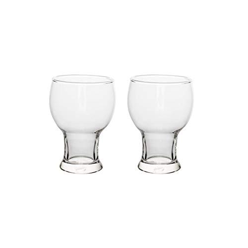 AHAI YU Cristal Premium - Cata de vinos Taza de Cerveza, Conjunto de Copa de Vino Redondo, Vidrio de Gran Capacidad, Gafas de Vino sin Fugas CHARAFES para Fiesta Y CASA DE Navidad Hombres