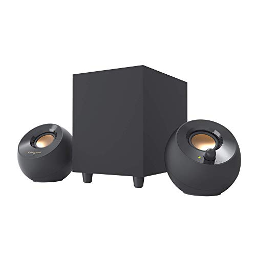 Creative Pebble Plus 2.1 USB-Powered Desktop Speakers with Down-Firing...