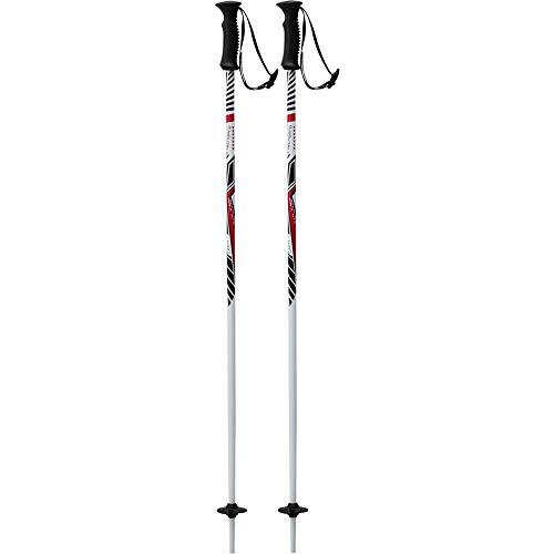 Tecno Pro Kinder Ski-Stock Skistock XT CARVE Jr weiß / rot / schwarz, Länge:085