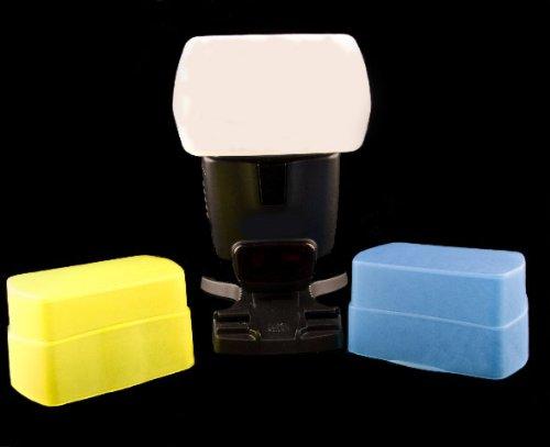3 colori timetrends/traslucido 100% per Canon Speedlite 580 EX e EX II