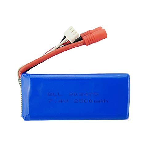 TwoCC Batería de 7.4V 2400Mah 25C para repuesto Syma X8 X8C X8W