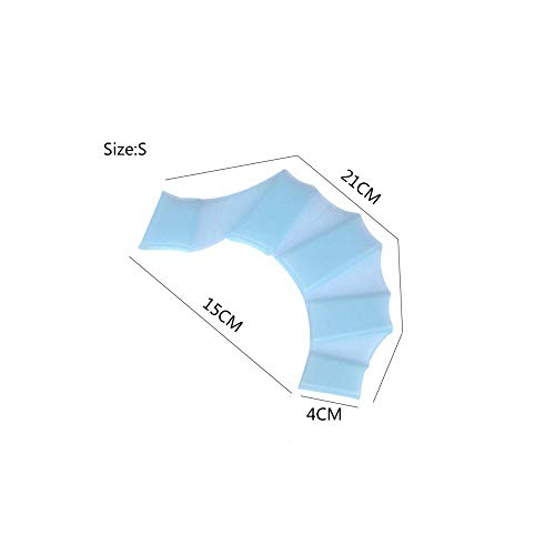 1 Stück Tauchhandschuhe für Frauen Herren Kinder Silikon Material Schwimmausrüstung Flossen Hand Web Flossen Training Webbed Handschuhe zum Schwimmen