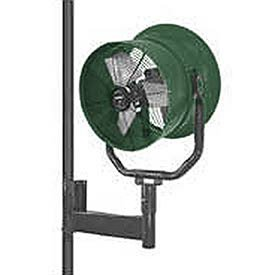 Why Choose Triangle Engineering 30 Horizontal Mount Fan With Poly Housing 1 HP 10600 CFM Single Pha...