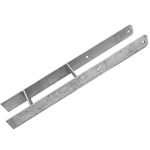 WICKEY Pfostenanker H 90mm schwer Stärke 6mm für Spielturm und Schaukel