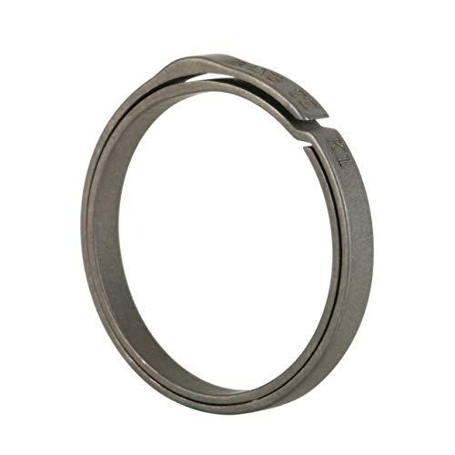 """BANG TI Titanium Nail-Saving Flexible Small Keyring (K1, 26mm/1.02"""", 5-pack)"""