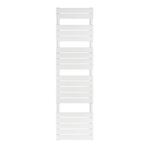 VILSTEIN Bad-Heizkörper, Horizontal, Weiß, Seitenanschluss und Mittelanschluss, 1800x500 mm
