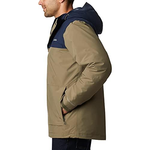 Columbia Horizon Explorer Insulated Jacket, Giacche (Shells) Uomo, Stone Green, Collegiate Navy, S