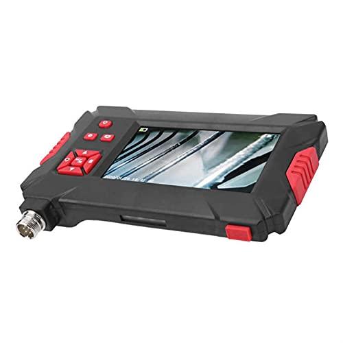 MIJPOJAN Herramienta P30 8mm Dual Lente endoscopio Industrial con 4.3in 1080p Pantalla LCD 9 Luces para inspección de tuberías (Cable Length : 2M)