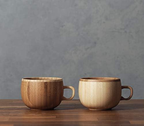 RIVERET コーヒーカップ 250ml ペア セット 国産 食器 食洗機対応 ホワイト/ブラウン RV-206WB