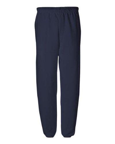 Jerzees mens Fleece Sweatpants, Elastic Bottom - Navy, 3X-Large US