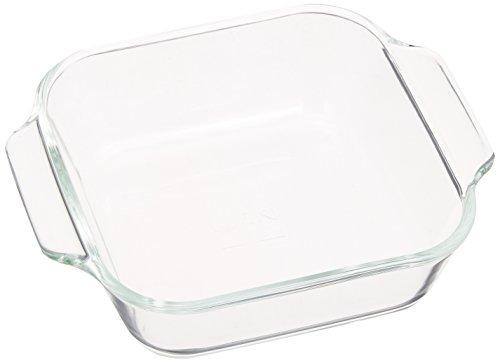 iwaki ベーシックシリーズ オーブントースター皿(ハーフ) 340ml KBC3840
