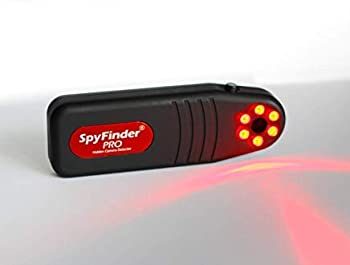 SPYFINDER PRO Hidden Spy Camera Detector - Portable Pocket Sized Camera Finder Locates Hidden Camera in Your House Office AirBnB Rentals Hotel Rooms Gyms Locker Rooms Bathrooms Dressing Rooms